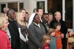 11.2008 Besuch aus Sambia