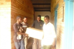 2009 Ankunft der Computer in Mporokoso