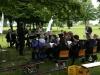 Das Akkordeon-Orchester der Musikschule des Hochsauerlandkreises mit dem Leiter Ulrich Papencordt