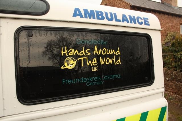 Chilubula- der neue Krankenwagen 12/2013