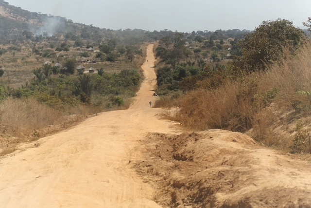 rough road Kayambi - Mpulungu