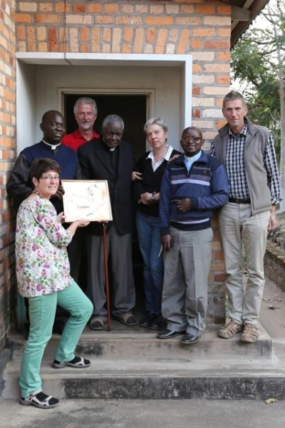 Besuch beim emeritierten Bischof Spaita