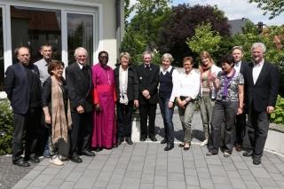 Erzbischof Chama beim Treffen mit dem Freundeskreis
