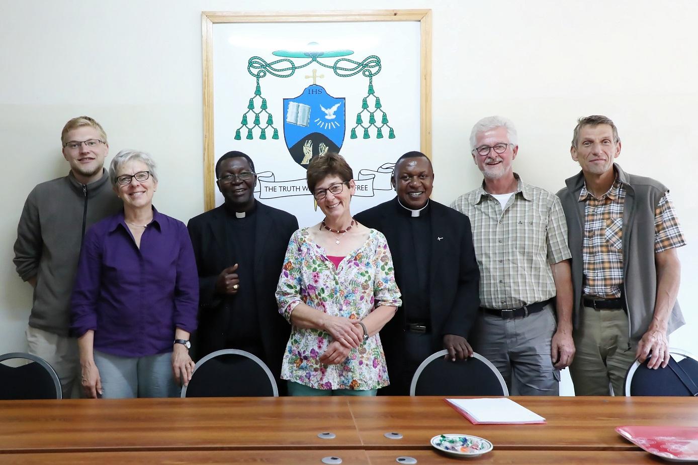 Treffen mit Erzbischof Chama