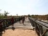 Brücke auf dem Weg nach Kayambi